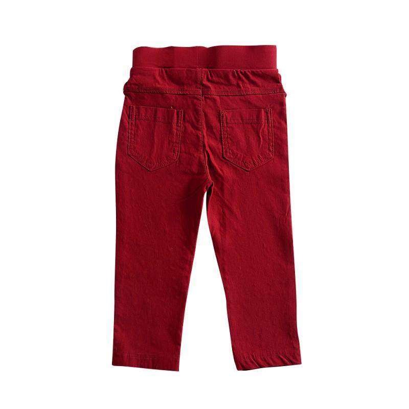 9eb4541a6 Autumn Summer Fashion Children Solid Pants Boys Girls Straight Trousers  Pencil Pants Bottoms