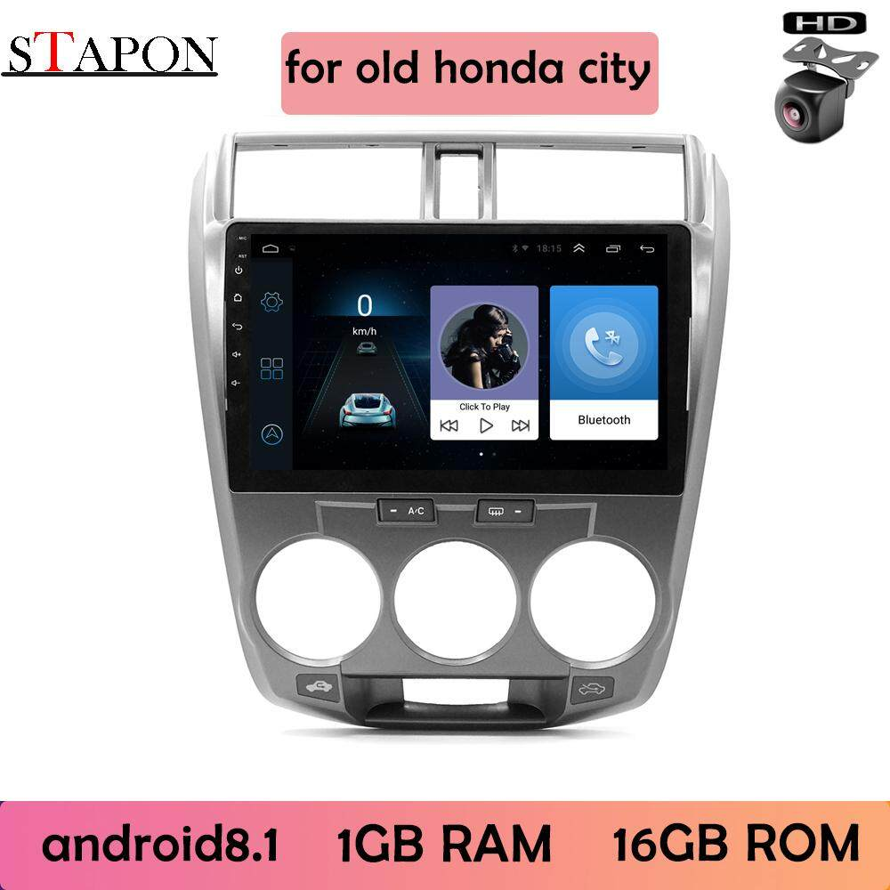 Stapon 10inch 2.5d For Honda City 2008-14 Android8.1 2g Ram+32g Rom System Car Head Unit Plug And Play Multimedia Player With Wifi Bluetooth Gps Steering Wheel Control Rear View 1010a By Stapon Electronic Store.
