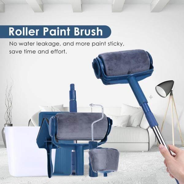 [Chinatera] 6/7pcs Paint Runner Pro Roller DIY Painting Brushes Set Wall Handle Tools