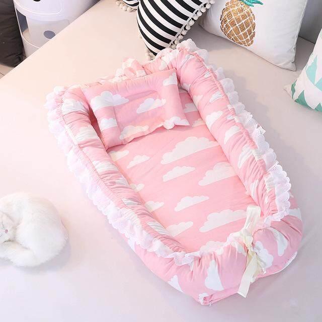 Cho bé Giấc Ngủ Giường Ngủ Tổ Cũi Babynest Snuggle Nôi Giường