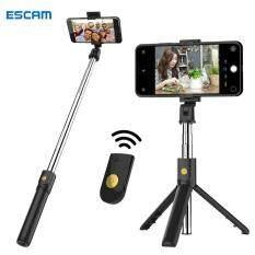 Gậy chụp ảnh tự sướng 3 chân mini ESCAM K07 kết nối bluetooth cho điện thoại iPhone 7 plus/Samsung A51/Oppo – INTL