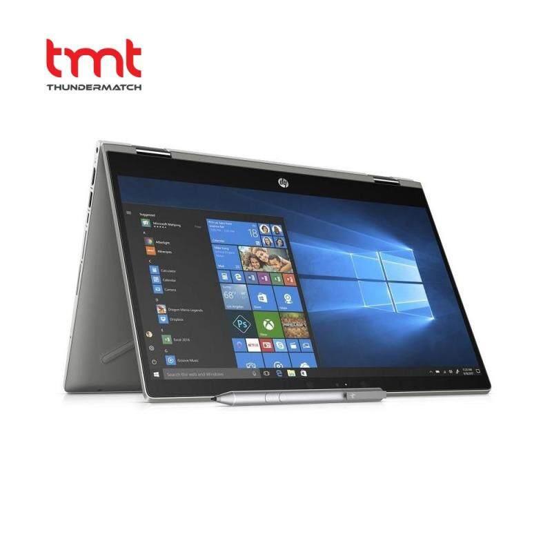 HP Pavilion x360 14-cd1015TX | i5-8265U | 4GB | 1TB | 14.0Touch | NVD MX130 | W10 - Silver (5HV79PA) Malaysia