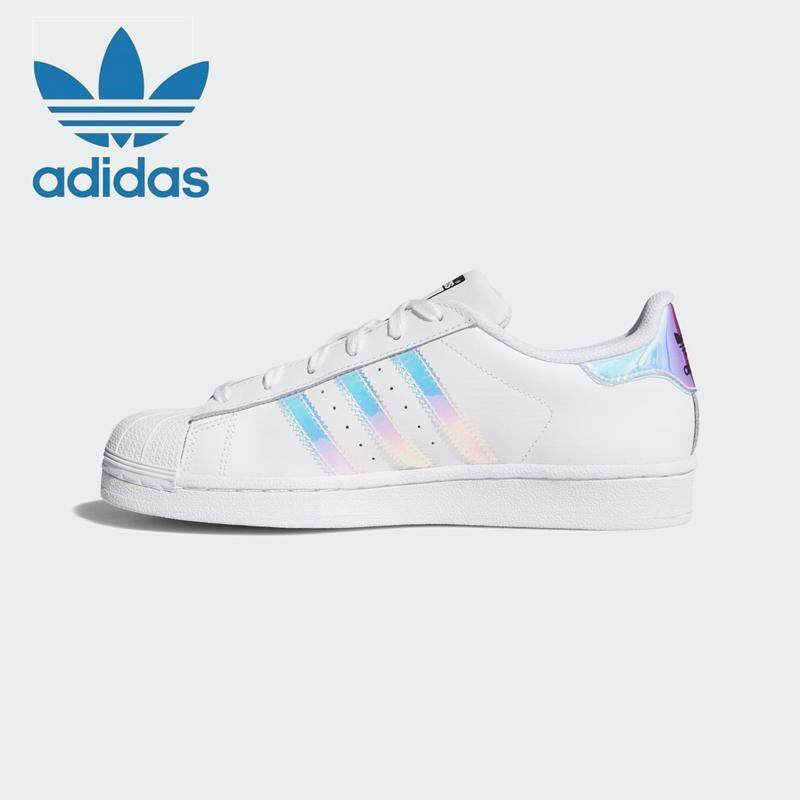51391451511ad Adidas Women s shoes clover SUPERSTAR laser shell head casual sports shoes  AQ6278