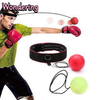 [AnselReg] 3 Cái bộ Bóng Phản Xạ Đấm Bốc Bóng Chiến Đấu Bóng Tốc Độ Đấm Để Tập Luyện Quyền Anh Tập Gym Phối Hợp Cải Thiện Phản Ứng Với Headband thumbnail