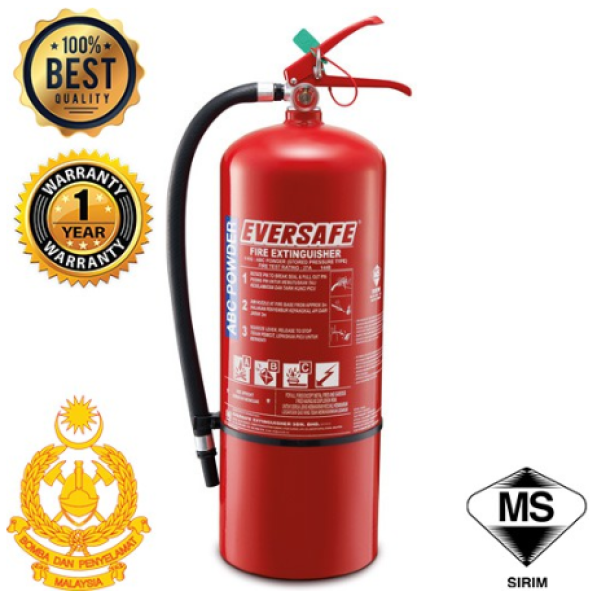 9KG Fire Extinguisher (FE) Come with Free Bracket