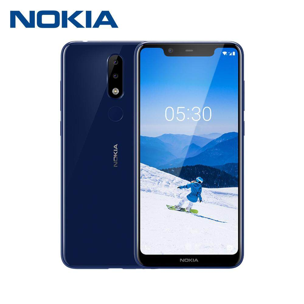2018 Nokia X5 Mobile Phone 5 86Inch 3GB RAM 32GB ROM 13MP 3Cameras  Android8 1 Helio P60 Octa Core 3060mAh 4G Fingerprint Unlocked Smartphone