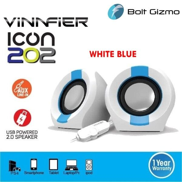 VINNFIER Icon 202 USB Audio 2.0 Powered mini Speaker Malaysia