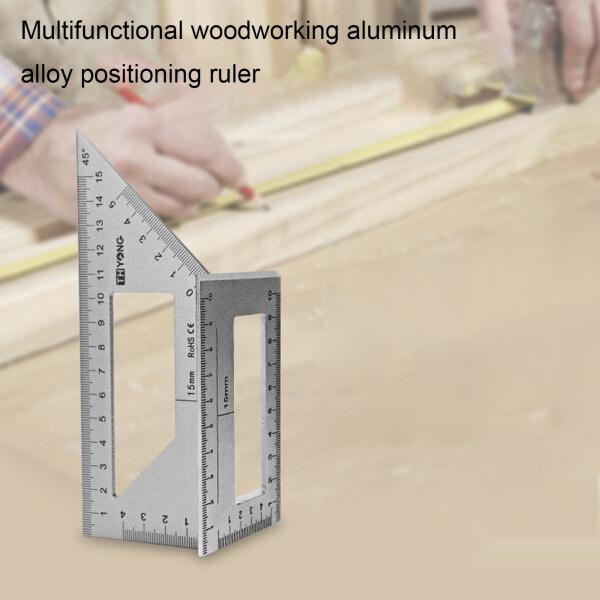 Thước đo góc 45/90 độ bằng hợp kim nhôm hình chữ T SZC - INTL