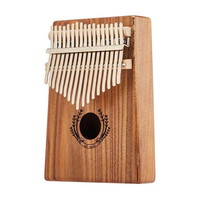 VAYu Kalimba 17 Key Thumb Piano and Tune Hammer,Portable Mahogany Body Finger Piano Kit,Perfect Festival Gift for Kids Malaysia