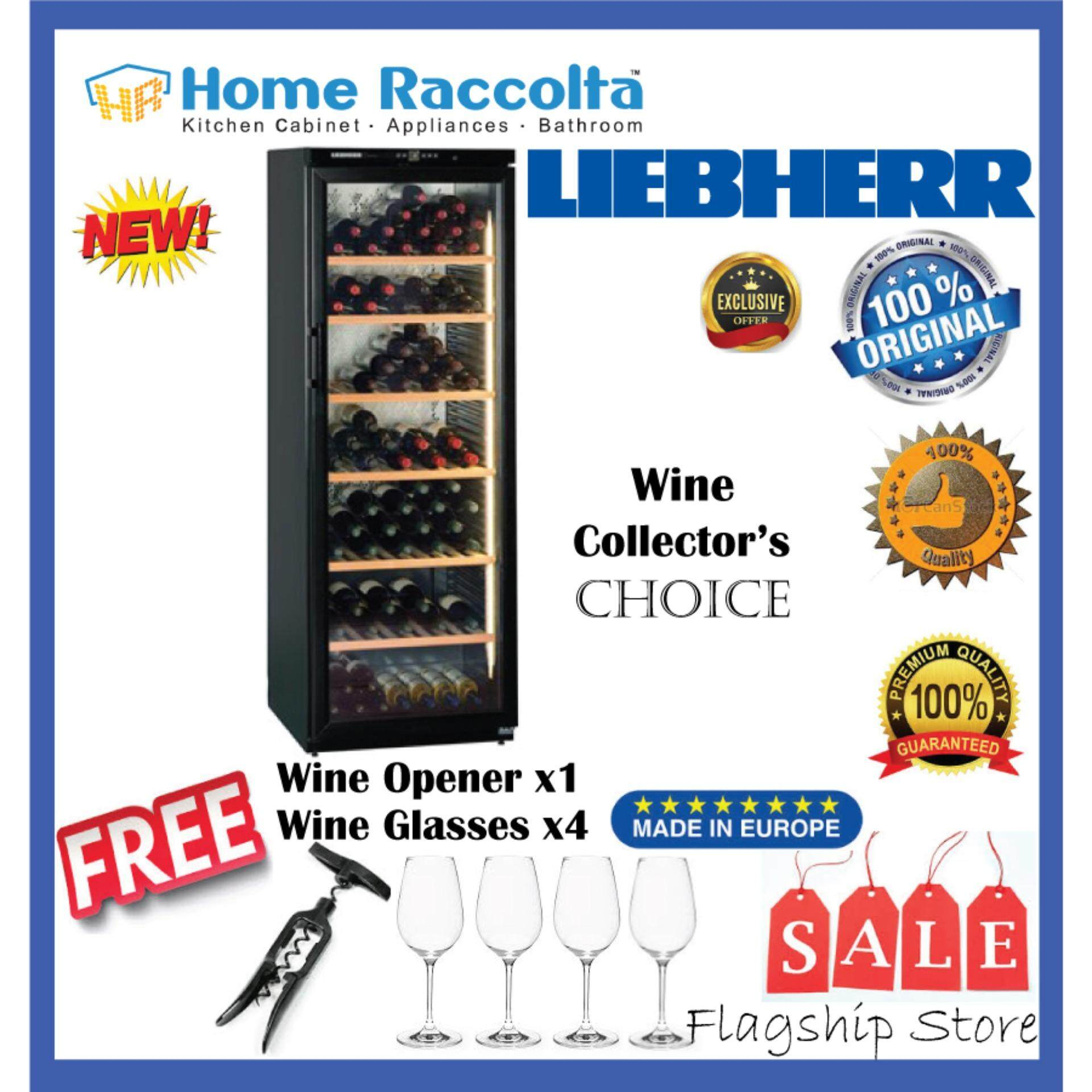 Liebherr Barrique Wine Chiller Wkb 4612 Barrique Wine Cellar Wkb4612 (186bottles) By Home Raccolta.