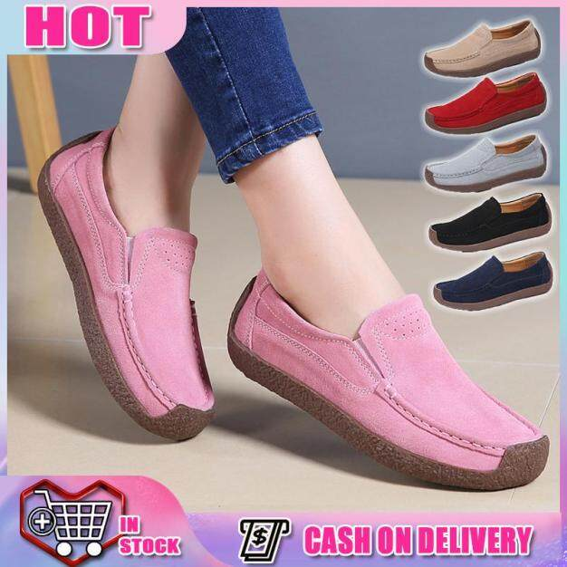 Flat Shoes Giày Platform Flat Doll Shoes Giày nữ Flat Shoes Slip On Boat Shoes And Loafers For Ladies Giày Wedges nữ Casual Gaya thể thao thể thaon Platform Sandals Giày Sandal nữ Slip On Flat Sandals For Women Slip On Rubber Shoes For Women giá rẻ