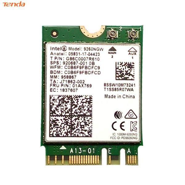 Bảng giá Bộ Chuyển Đổi Không Dây M.2 NGFF 2.4G/5G 9260NGW 1.73Gbps Card Mạng WiFi Băng Tần Kép Cho Máy Tính Để Bàn Phong Vũ
