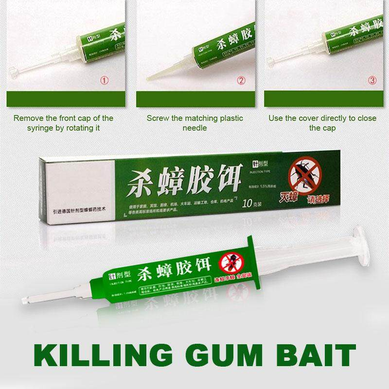 Roach Gel Bait 10g Solid Non-Toxic Miraculous Home Roach Cockroach Bait Insecticide Bait