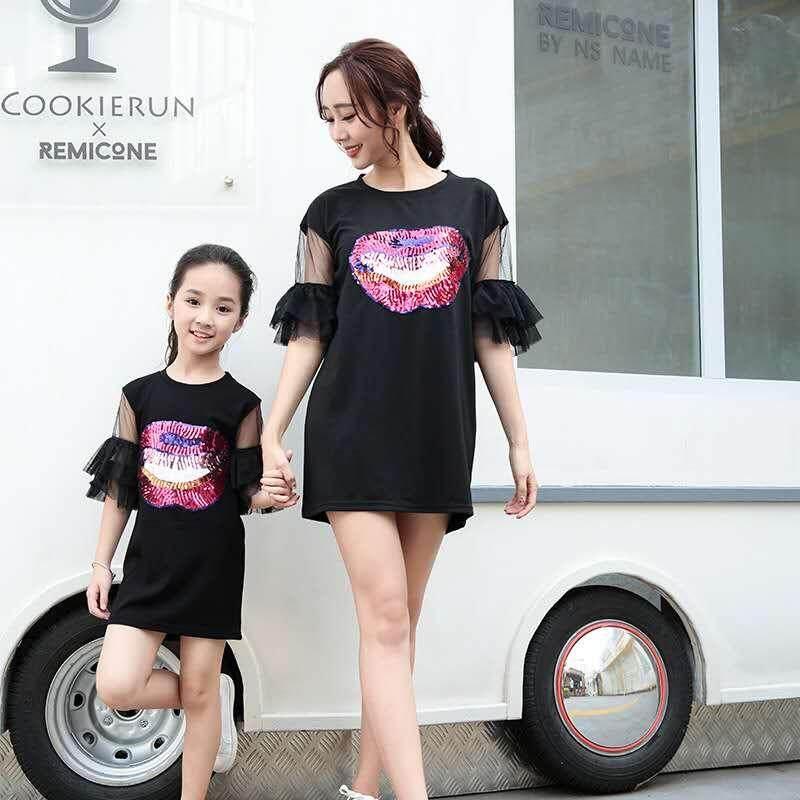 Giá bán Thời trang kim sa Hàn Quốc và váy con gái
