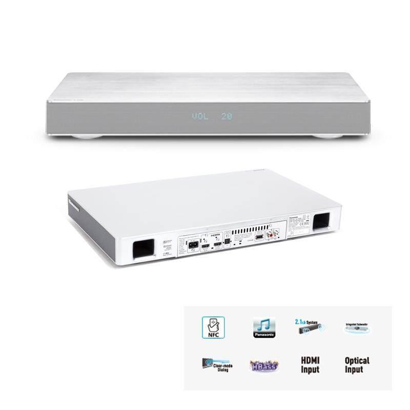 Panasonic Sound Board 120W (RMS) Total Power Output W/Amplifier Silver SC-HTE80