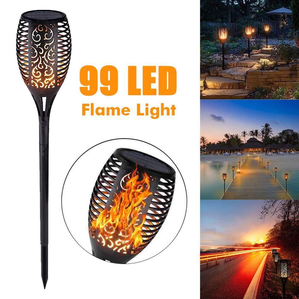 【Free Shipping + Super Deal + Limited Offer】99 LED 5.5V/5W Solar Lights Outdoor Solar Torch Light Flickering Flame Garden Lighting