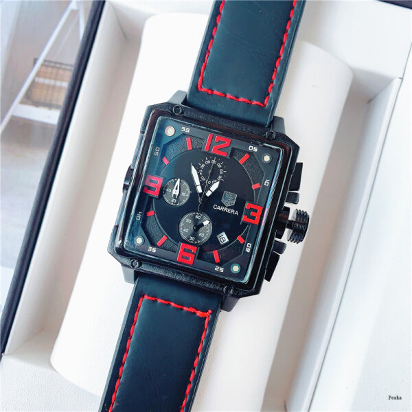 2020 New Original TAG Heuers Watch Men and Women Automatic Watches Mechanical Outdoor Sports Casual Leather Wrist Watch Malaysia