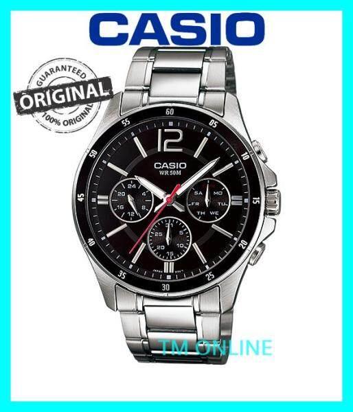 (ORIGINAL+1YR WARRANTY) CASIO MTP-1374D-1A MEN BUSINESS WATCH Malaysia