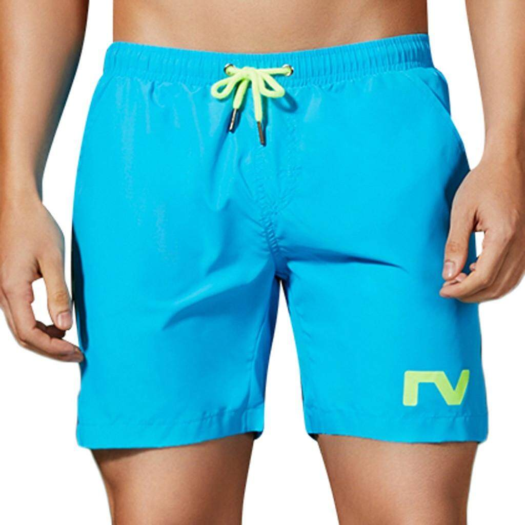 Mobilone Mens Summer Casual Sport Pattern Loose Beach Quick-Drying Short Pants By Mobilone.