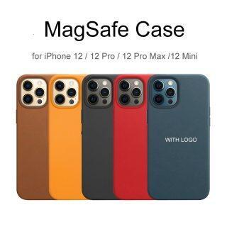 HOCE Ốp Điện Thoại MagSafe Bằng Da Cho iPhone 12 13 Pro Max Ốp An Toàn Mag Sang Trọng Cho iPhone 12 Pro Max 12 13 Ốp Mini Ốp Từ Tính Có Logo thumbnail