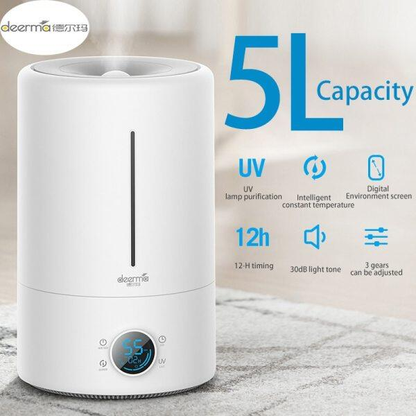 Original Xiaomi Home Deerma 5L Large Capacity Household Mute Air Humidifier Ultrasonic Air Humidifier Purifying Humidifier Aroma Singapore