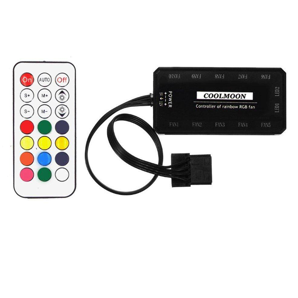 Mini Wireless Remote Control 21 Keys Dimmable Controller Multicolor RGB LED Light Remote for Desktop CPU Cooling Fan Malaysia