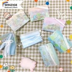 Winzige Túi lưu trữ có họa tiết hoạt hình dễ thương bằng chất liệu PP, kích thước 9*6*0.8cm – INTL