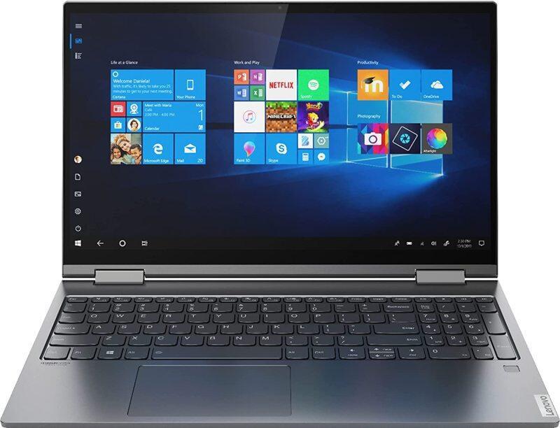 Lenovo Yoga C740 2-in-1 15.6 FHD Widescreen LED Multi-Touch Premium Laptop | 10th Gen Intel i5-10210U | 8GB RAM | 512GB SSD | Backlit Keyboard | Fingerprint | Windows 10 | with USB3.0 HUB Bundle Malaysia