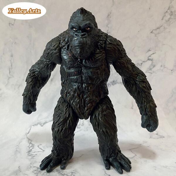 Mô Hình Kangs Gorilla King Mô Phỏng, Với Mô Hình Động Vật Rắn PVC Kích Thước Lớn 18Cm Quà Tặng Đồ Chơi Cho Trẻ Em