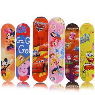 VLB288 Skateboard Người Mới Bắt Đầu Chàng Trai Và Cô Gái Thanh Thiếu Niên Phiên Bản Chuyên Nghiệp, Ván Trượt Đánh Răng Đường Phố Cho Trẻ Em Bốn Bánh Đèn Flash Hai Đầu Xe Tay Ga thumbnail