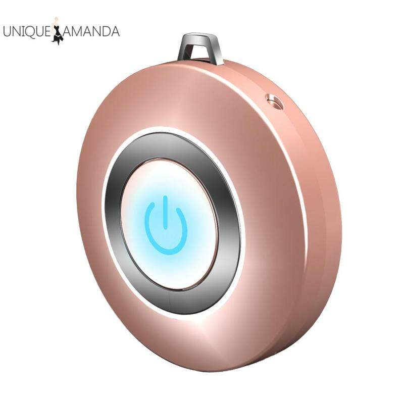 Air Purifier Personal Wearable DC5V USB Ionizer Necklace Mini Portable Air Freshener Singapore
