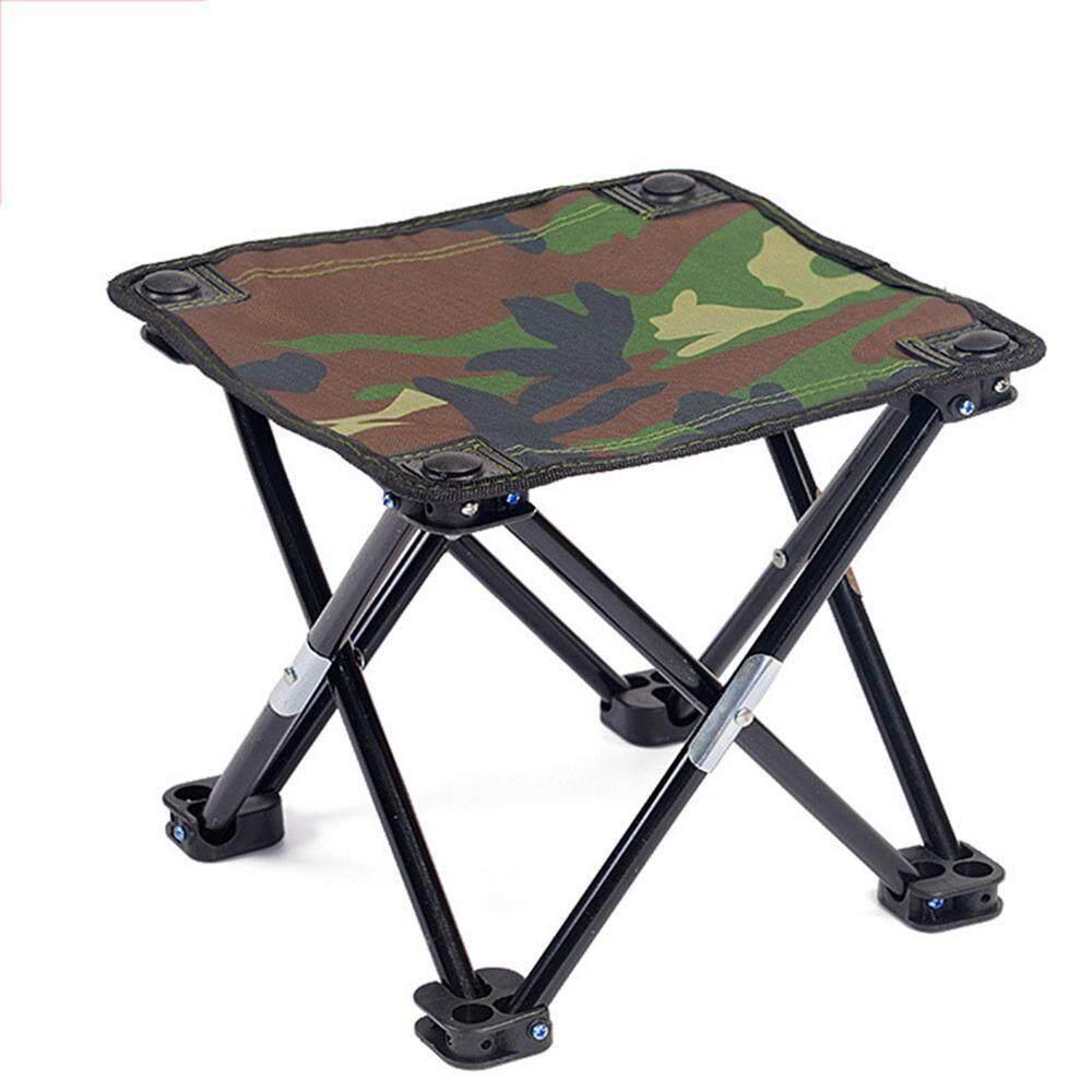 NEW Aluminum Hiking Chair Fishing Seat Stool Outdoor Folding Portable w//Bag BP