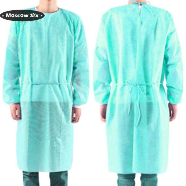 10pcs/lot Non-woven Security Protection Suit Disposable Isolation Gown