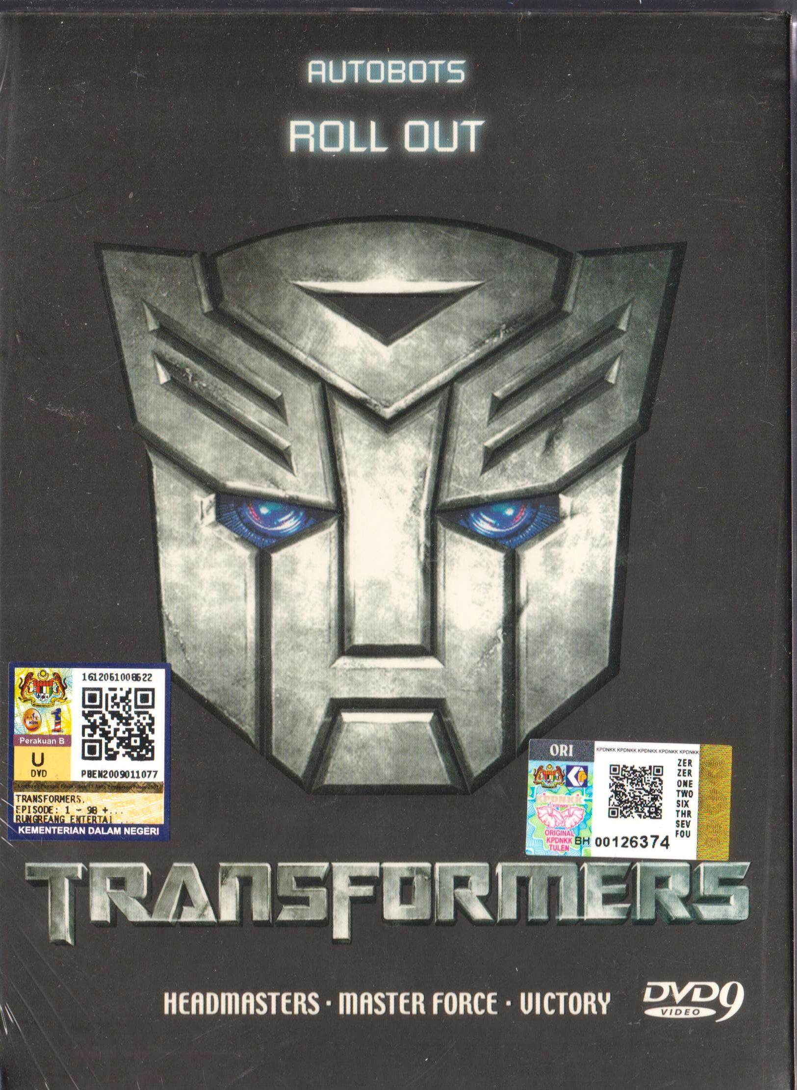 Anime Dvd Transformers Headmasters Master Force Victory Vol.1-109 End By Onekm Animation Shop.