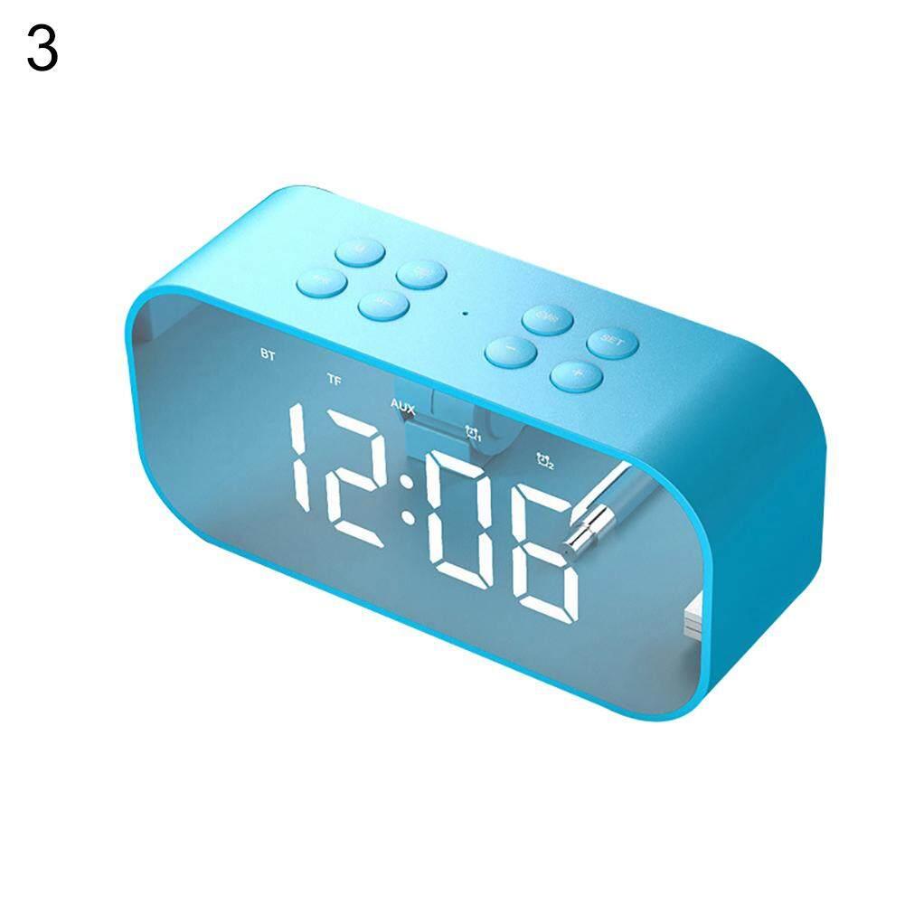 Nơi bán Tupac Bluetooth 5.0 Không Dây Loa Nhạc Đồng Hồ Báo Thức Điện Thoại Laptop SoundBox