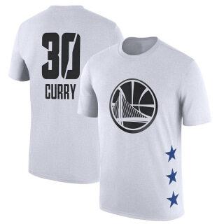 Áo Thun Bóng Rổ Ngắn Tay Golden State Warriors, NBA-STAR Áo Phông Thường Ngày Thể Thao Cổ Tròn Tập Thể Dục Bóng Rổ Stephen-Curry Kevin-Durant thumbnail