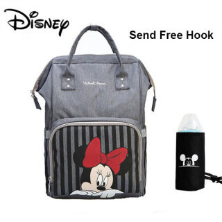 Disney Classic Micke Y Minnin E Series Túi Tã Cho Bé Ba Lô Có Túi USB Cho Mẹ Đi Du Lịch Túi Đựng Tã Cho Bà Bầu Dung Tích Lớn thumbnail