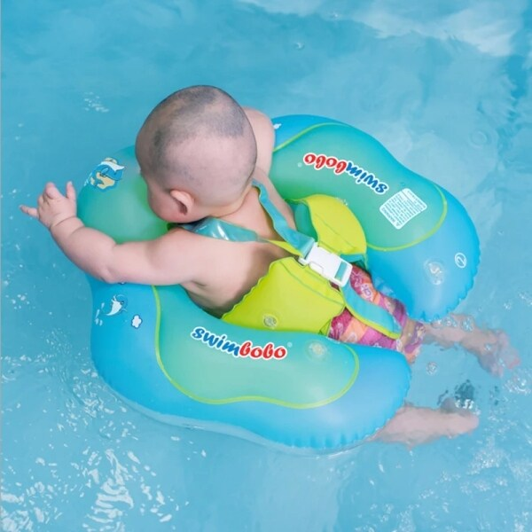 Baby Swimming Ring Inflatable Infant Floating Kids Float Swim Pool Accessories Circle Bath Inflatable Ring Toy