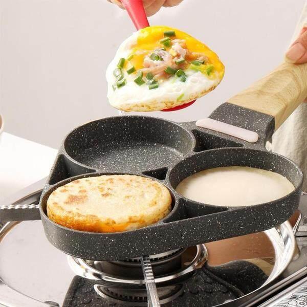 Chảo Tráng Trứng Đá Maifan Chảo Chiên Trứng Chiên Trứng Khuôn Bacon Pan Không Dính Bánh Tráng Chảo Máy Làm Bánh Kếp Hộ Gia Đình