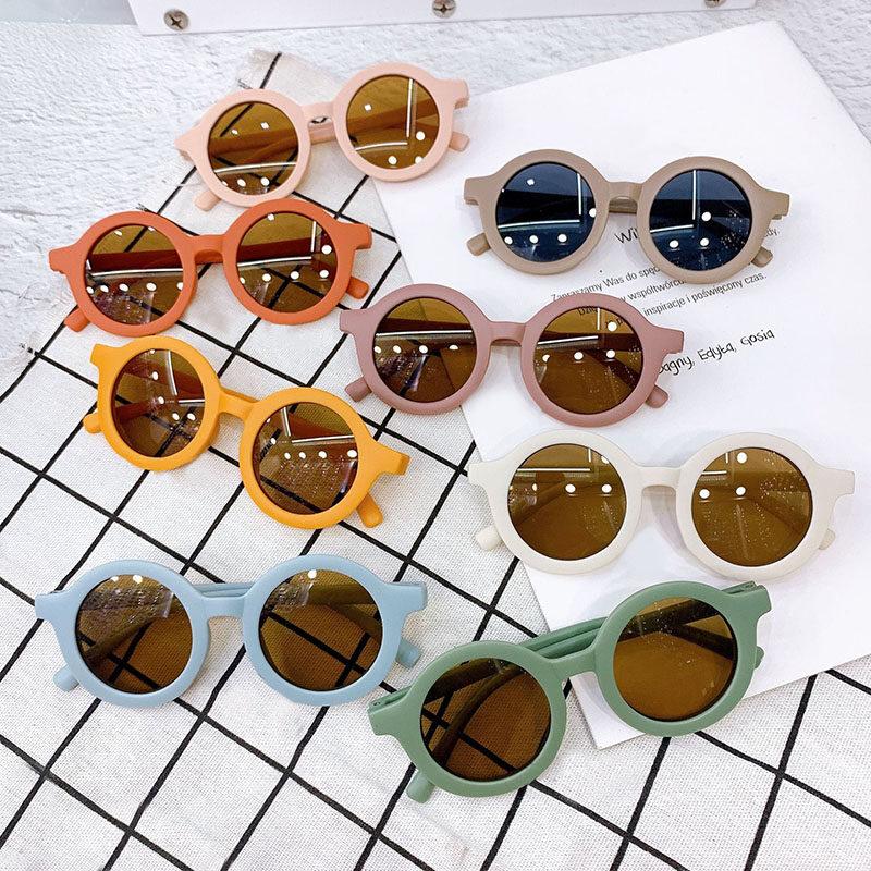 แฟชั่นเด็กแว่นกันแดดปกป้อง Uv คลาสสิกเด็กแว่นตาเด็กแว่นตาสตรีทสไตล์การถ่ายภาพ Props.