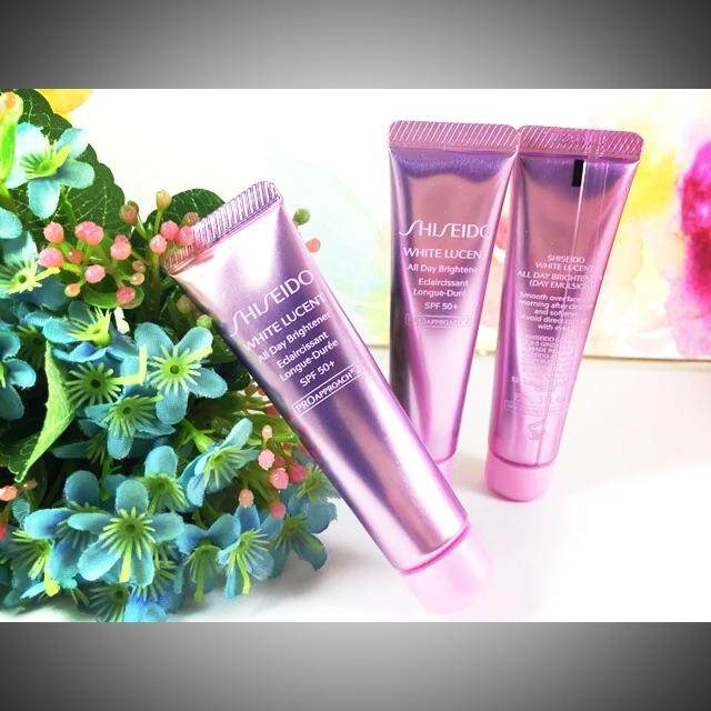 SHISEIDO White Lucent All Day Brightener SPF 50+ PA++++ 15ml (Made in Japan)