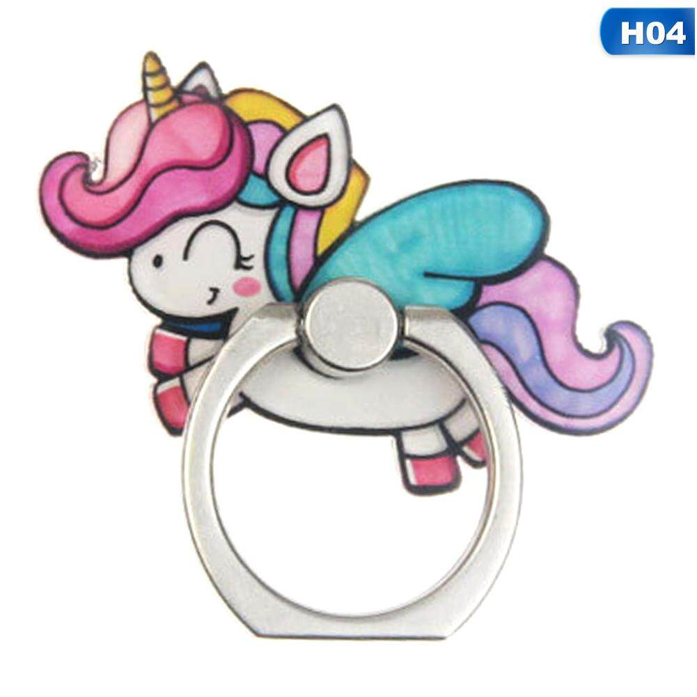 Cellphones & Telecommunications Mobile Phone Accessories Acrylic Cartoon Unicorn Mobile Phone Stand Holder Unicorn Finger Ring Mobile Smartphone Holder Stand For Iphone Huawei All Phone