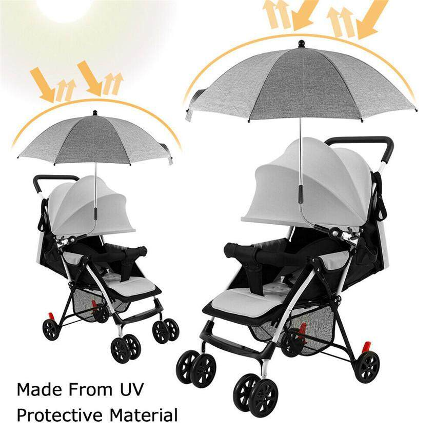 Universal Baby Parasol Sun Shade Umbrella UV Protection For Pushchair Pram Buggy
