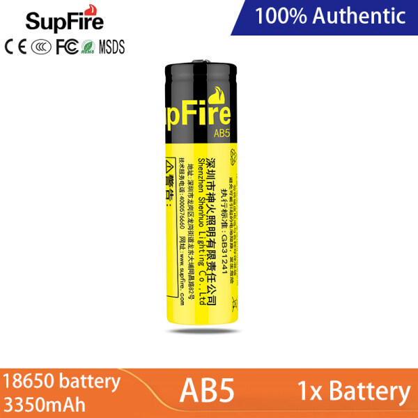 Bảng giá Supfire AB5 18650 Li-Ion Battery Charger 3350MAh Dung Lượng Cao 3.7V/4.2V Mạnh Mẽ Ánh Sáng Đèn Pin