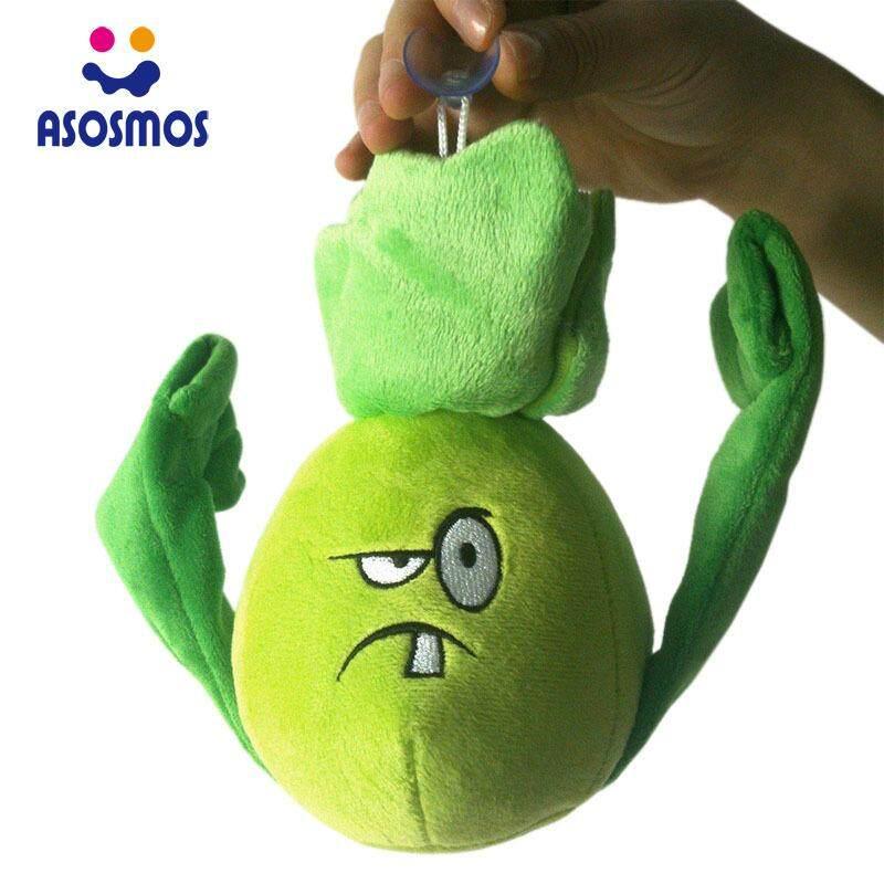 ASM Cute FAshion Plants Vs Zombies 2 Series Plush Toy Bonk Choy Small Doll