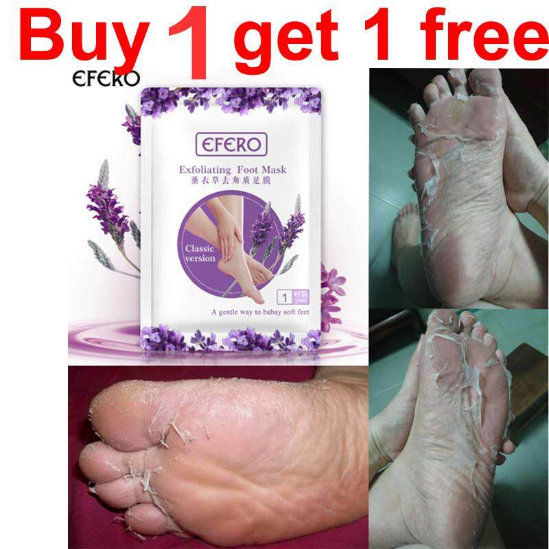 【buy 1 Get 1 Free】avender Peeling Foot Film Exfoliating Old Horny Beautiful Feet Whitening Moisturizing Foot Mask By Poppin.