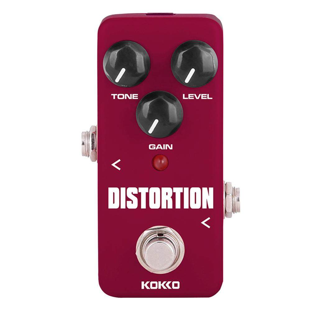 KOKKO Electric Guitar Effects Pedal Classic Distortion DC 9V Guitarra Mini  Effect Pedal Guitar Part Accessories FDS-2