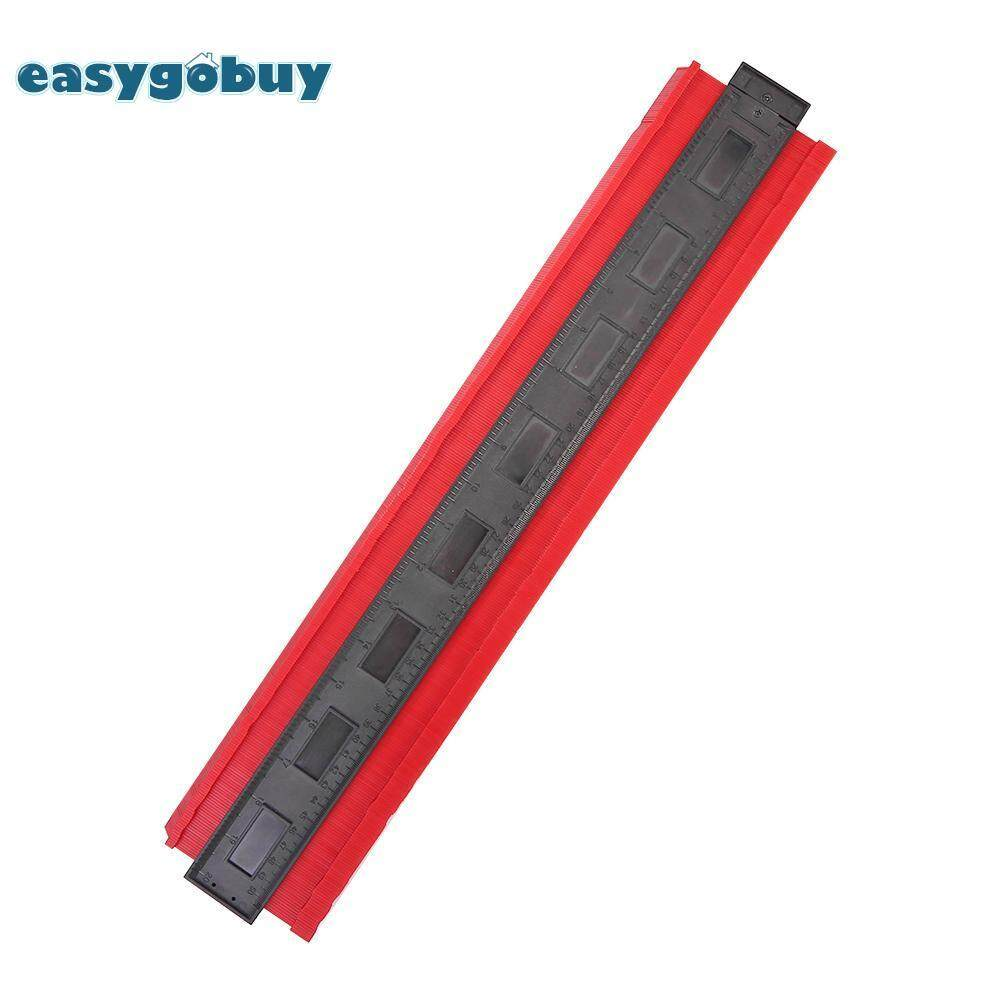 [easygoingbuy]Plastic Profile Copy Gauge Contour Gauge Duplicator Tiles Wood Marking Tool