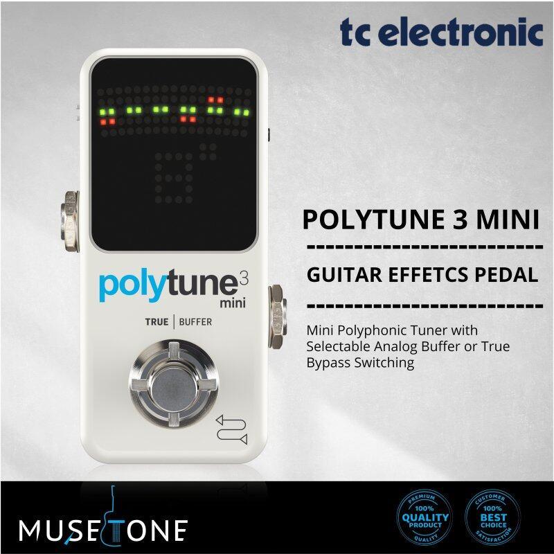 TC Electronic PolyTune 3 Mini Polyphonic Tuning Pedal Malaysia