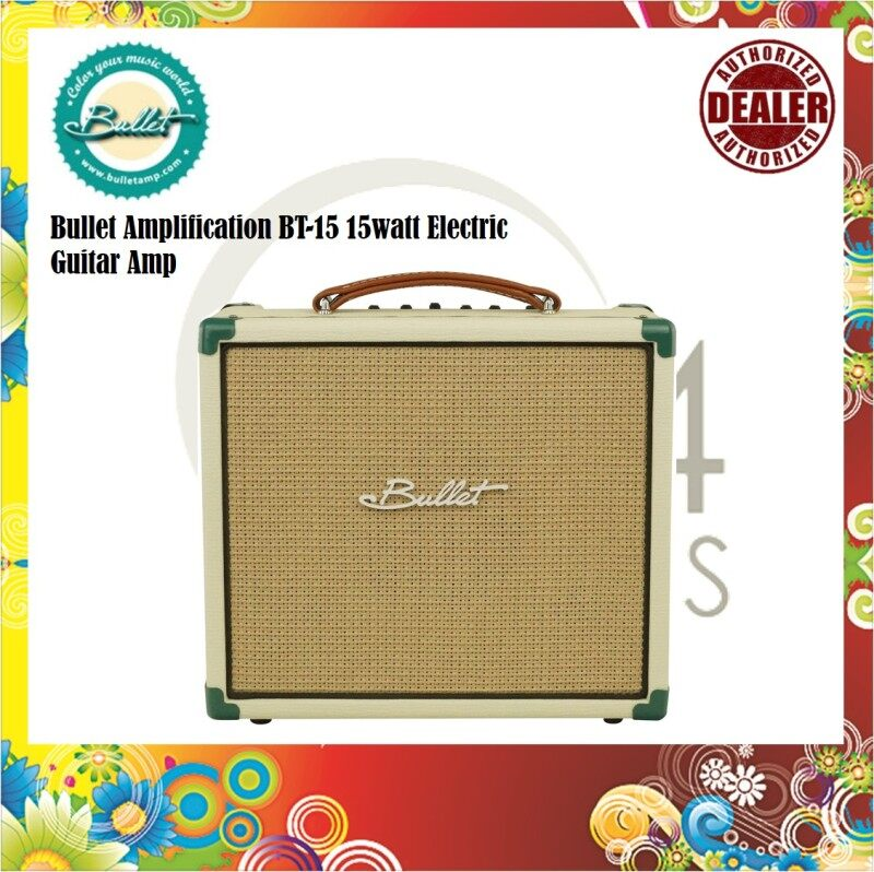 Bullet Amplification BT-15 15watt Electric Guitar Amp / Guitar Amplifier Malaysia
